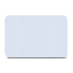 Alice Blue Pinstripe in an English Country Garden Plate Mats