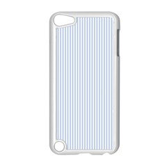 Alice Blue Pinstripe in an English Country Garden Apple iPod Touch 5 Case (White)