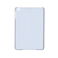 Alice Blue Pinstripe in an English Country Garden iPad Mini 2 Hardshell Cases