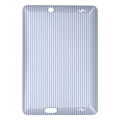 Alice Blue Pinstripe in an English Country Garden Amazon Kindle Fire HD (2013) Hardshell Case