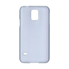 Alice Blue Pinstripe in an English Country Garden Samsung Galaxy S5 Hardshell Case