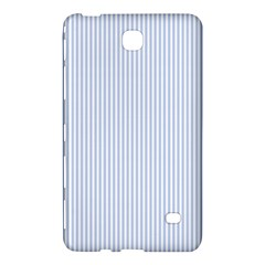 Alice Blue Pinstripe in an English Country Garden Samsung Galaxy Tab 4 (8 ) Hardshell Case
