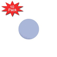 Alice Blue Mini Footpath in English Country Garden  1  Mini Buttons (10 pack)