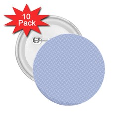 Alice Blue Mini Footpath in English Country Garden  2.25  Buttons (10 pack)