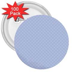 Alice Blue Mini Footpath in English Country Garden  3  Buttons (100 pack)