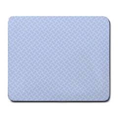 Alice Blue Mini Footpath in English Country Garden  Large Mousepads