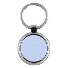 Alice Blue Mini Footpath in English Country Garden  Key Chains (Round)