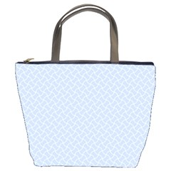 Alice Blue Mini Footpath in English Country Garden  Bucket Bags