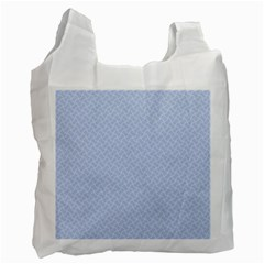 Alice Blue Mini Footpath in English Country Garden  Recycle Bag (Two Side)