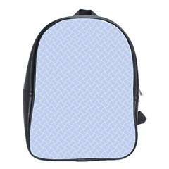 Alice Blue Mini Footpath in English Country Garden  School Bags(Large)