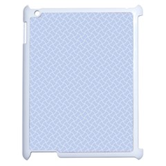 Alice Blue Mini Footpath in English Country Garden  Apple iPad 2 Case (White)