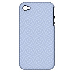 Alice Blue Mini Footpath in English Country Garden  Apple iPhone 4/4S Hardshell Case (PC+Silicone)