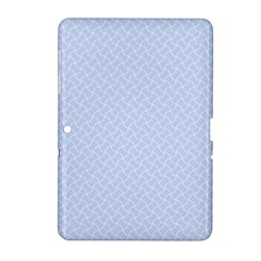 Alice Blue Mini Footpath in English Country Garden  Samsung Galaxy Tab 2 (10.1 ) P5100 Hardshell Case