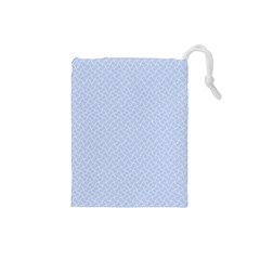 Alice Blue Mini Footpath In English Country Garden  Drawstring Pouches (small)