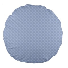 Alice Blue Mini Footpath in English Country Garden  Large 18  Premium Flano Round Cushions