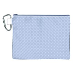 Alice Blue Mini Footpath in English Country Garden  Canvas Cosmetic Bag (XXL)