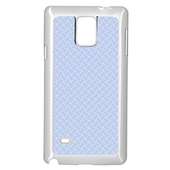 Alice Blue Mini Footpath in English Country Garden  Samsung Galaxy Note 4 Case (White)