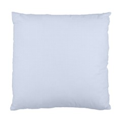 Alice Blue Houndstooth in English Country Garden Standard Cushion Case (One Side)