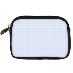 Alice Blue Houndstooth in English Country Garden Digital Camera Cases