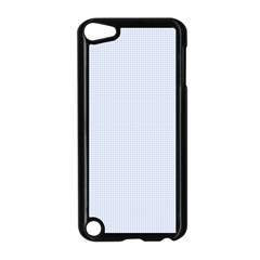 Alice Blue Houndstooth in English Country Garden Apple iPod Touch 5 Case (Black)