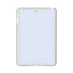 Alice Blue Houndstooth in English Country Garden iPad Mini 2 Enamel Coated Cases