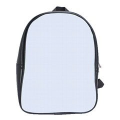 Alice Blue Houndstooth in English Country Garden School Bags (XL)