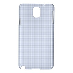 Alice Blue Houndstooth in English Country Garden Samsung Galaxy Note 3 N9005 Hardshell Case