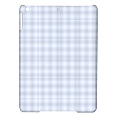 Alice Blue Houndstooth in English Country Garden iPad Air Hardshell Cases
