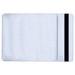 Alice Blue Houndstooth in English Country Garden iPad Air 2 Flip