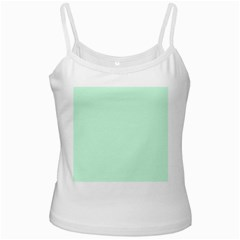 Pale Green Summermint Pastel Green Mint Ladies Camisoles