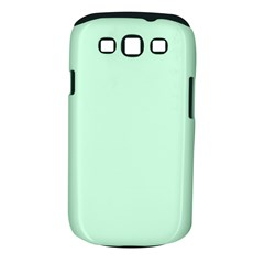 Pale Green Summermint Pastel Green Mint Samsung Galaxy S III Classic Hardshell Case (PC+Silicone)
