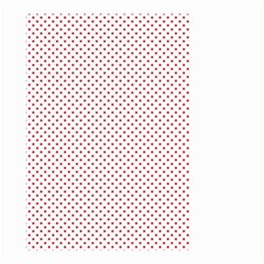 USA Flag Red Stars on White Small Garden Flag (Two Sides)