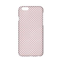 USA Flag Red Stars on White Apple iPhone 6/6S Hardshell Case