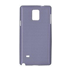 USA Flag Blue & White Wavy ZigZag Chevron Stripes Samsung Galaxy Note 4 Hardshell Case