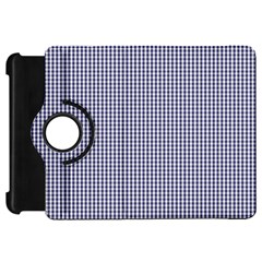 USA Flag Blue and White Gingham Checked Kindle Fire HD 7