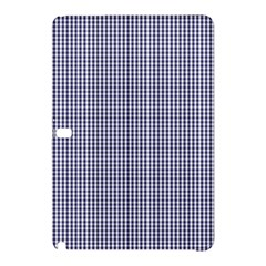 USA Flag Blue and White Gingham Checked Samsung Galaxy Tab Pro 10.1 Hardshell Case