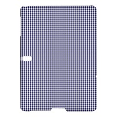 USA Flag Blue and White Gingham Checked Samsung Galaxy Tab S (10.5 ) Hardshell Case