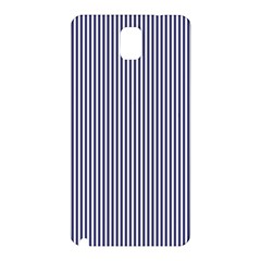 USA Flag Blue and White Stripes Samsung Galaxy Note 3 N9005 Hardshell Back Case