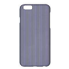 USA Flag Blue and White Stripes Apple iPhone 6 Plus/6S Plus Hardshell Case