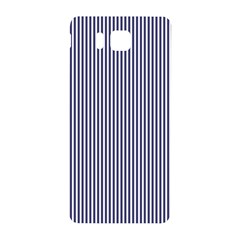USA Flag Blue and White Stripes Samsung Galaxy Alpha Hardshell Back Case