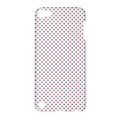 USA Flag Red and Flag Blue Stars Apple iPod Touch 5 Hardshell Case