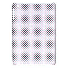 USA Flag Red and Flag Blue Stars Apple iPad Mini Hardshell Case