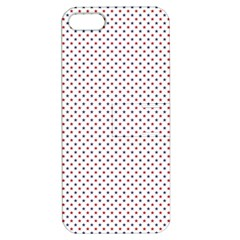 Usa Flag Red And Flag Blue Stars Apple Iphone 5 Hardshell Case With Stand