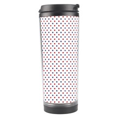 USA Flag Red and Flag Blue Stars Travel Tumbler