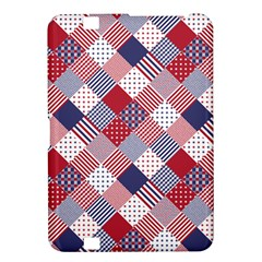 Usa Americana Diagonal Red White & Blue Quilt Kindle Fire Hd 8 9
