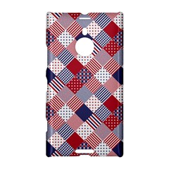 USA Americana Diagonal Red White & Blue Quilt Nokia Lumia 1520