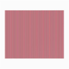 USA Flag Red and White Stripes Small Glasses Cloth (2-Side)