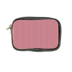 USA Flag Red and White Stripes Coin Purse