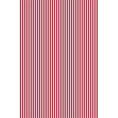 USA Flag Red and White Stripes 5.5  x 8.5  Notebooks