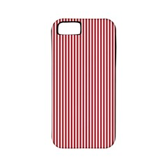 USA Flag Red and White Stripes Apple iPhone 5 Classic Hardshell Case (PC+Silicone)
